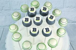 Bloc Technology cake pops corporate