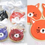 Cat cookies for Covergirl
