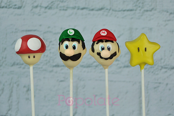 Mario And Luigi Cake Pops At Playtime Chatswood Popolate