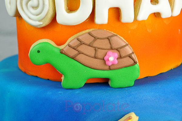 Turtle cookie Moana