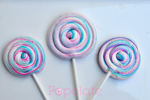 Lollipop meringues Sydney