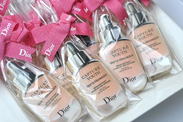 Dior Serum cookies