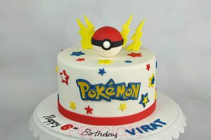 Pokemon Pokeball cake Hornsby