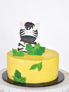 Zebra Cookie Cake
