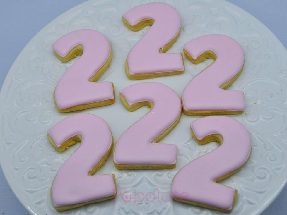 Number 2 cookie