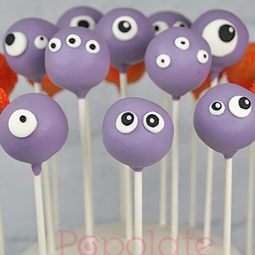 Cute monster cake pops