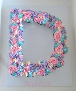 D cake