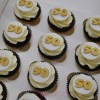 50th cupcakes