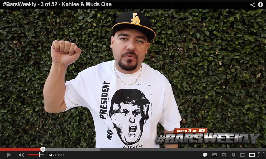 Video – Kahlee & Muds – #BarsWeekly 3 of 52