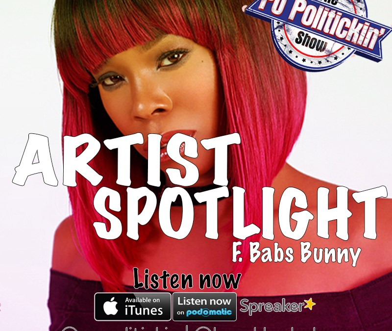 [Podcast] Artist Spotlight – Babs Bunny @brooklynbabs