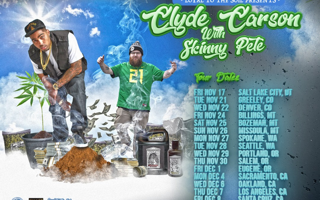[Video] Skinny Pete – No They Don't Know + Loyal To The Soil Tour with Clyde Carson | @ClydeCarson @SkinnyPeteMusic