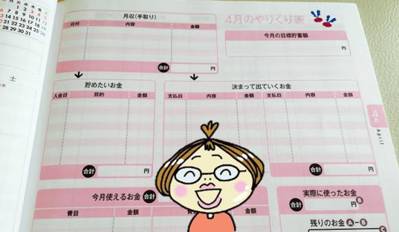 家計簿手書きおすすめ