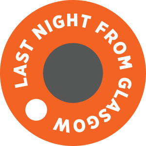 Last Night From Glasgow logo