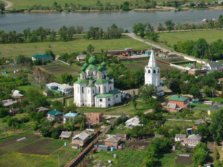 станица Старочеркасская, Свято-Донской мужской монастырь