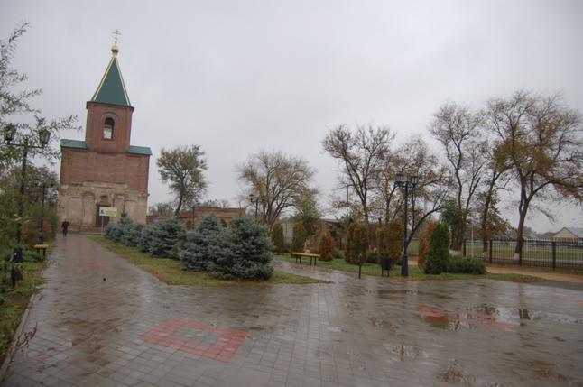 Место установки памятника