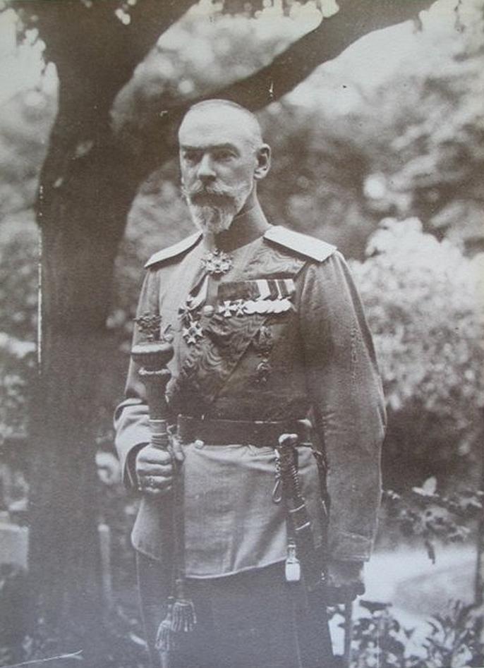 Граф Михаил Николаевич Граббе, последний наказной атаман Войска Донского, первый староста храма в Аньере