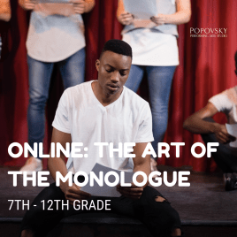 The Art of the Monologue ONLINE
