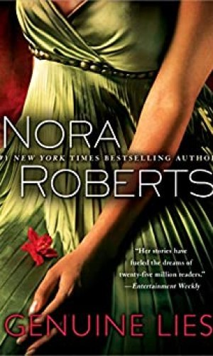 Genuine Lies by Nora Roberts - Poppies and Jasmine
