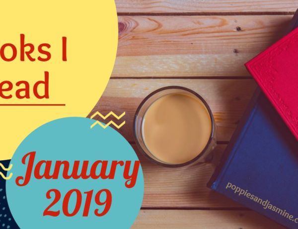 Books I Read January 2-10 | Poppies and Jasmine