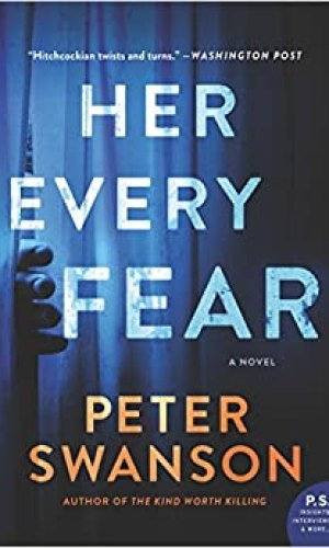 Her Every Fear - Peter Swanson | Poppies and Jasmine