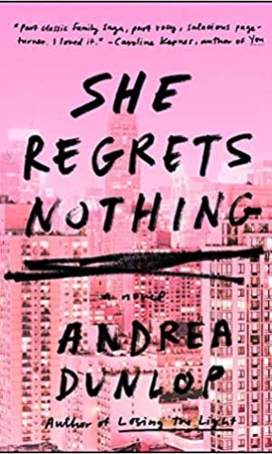 She Regrets Nothing - Andrea Dunlop | Poppies and Jasmine