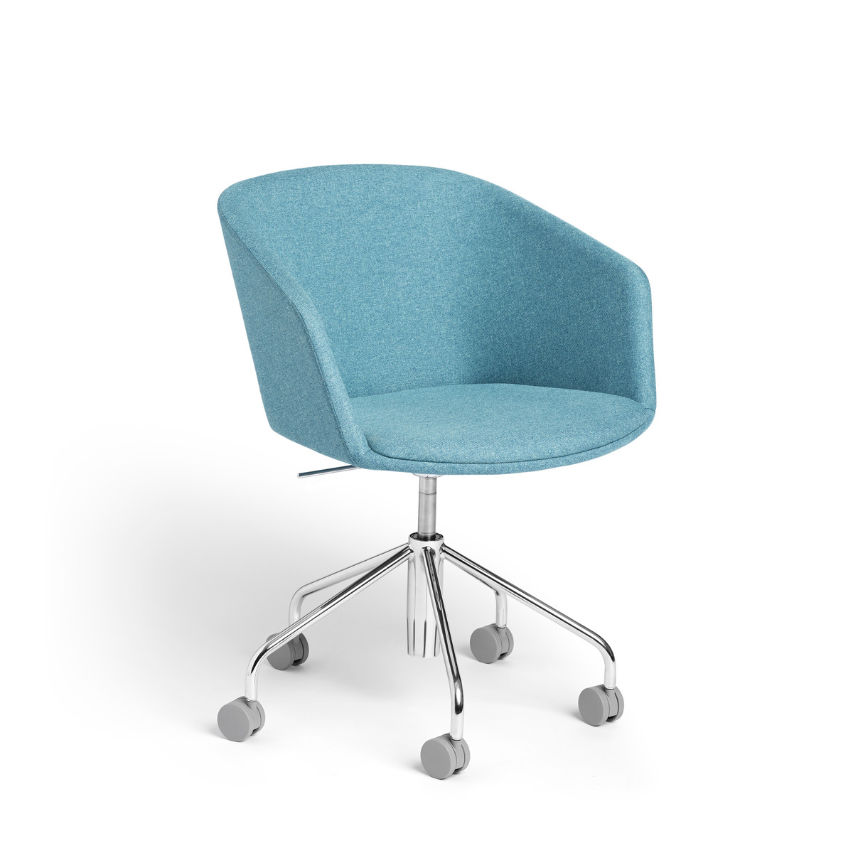 Blue Pitch Meeting Chair Modern Office Furniture Poppin