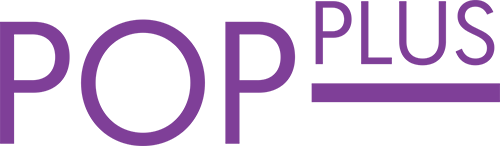 pop plus / logo