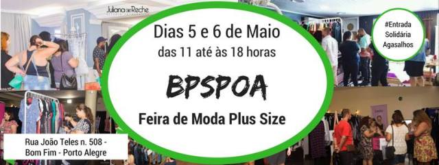 RS – BPSPOA – Feira de Moda Plus Size