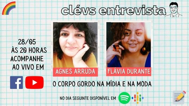 Flávia Durante, Agnes Arruda e Cléverton Santana debatem corpo gordo e mídia