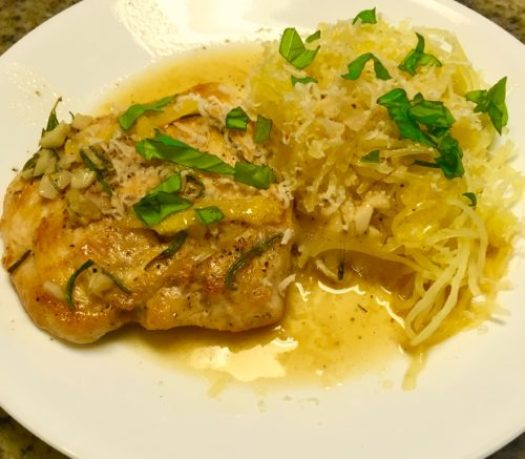 Sautéed Chicken with Lemon and Rosemary poppopcooks.com