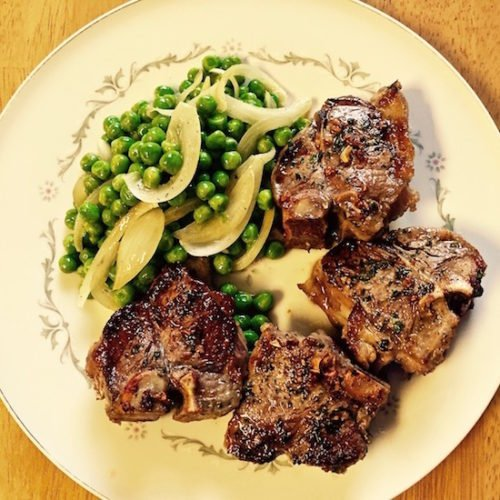 Grilled Lamb Chops with Rosemary and Mint poppopcooks.com