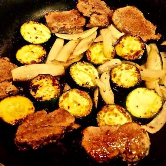 One Skillet Pork Tenderloin and Veggies3