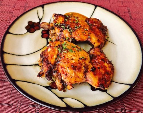 Quick Easy Chicken Thighs