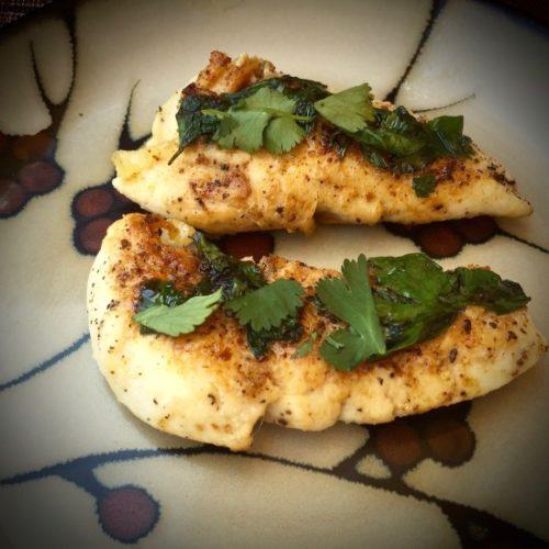 Spicy Cilantro Lime Chicken5 poppopcooks.com