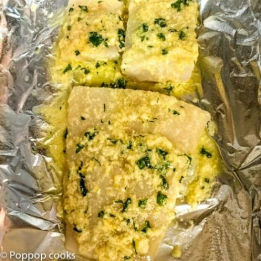 Lemon Zested Baked Cod Fillets-3-poppopcooks.com