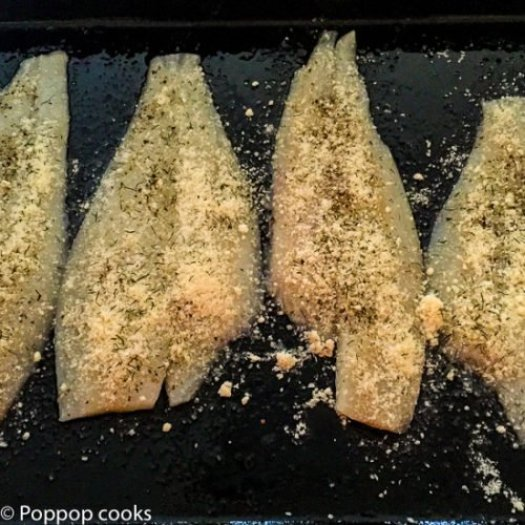Oven Baked Lemon Parsley Flounder-3-poppopcooks.com