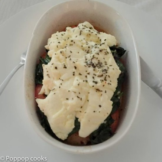 Ricotta Spinach Chicken-6-poppopcooks.com