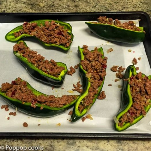 Stuffed Peppers Mexican Style-8-poppopcooks.com