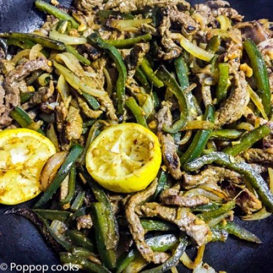Beef Fajitas-4-poppopcooks.com