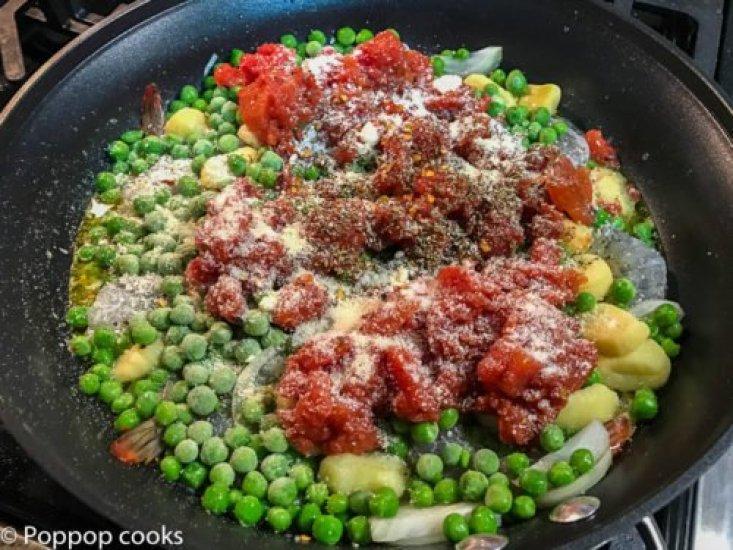 One Pot Shrimp Dinner-3-poppopcooks.com-quick and easy