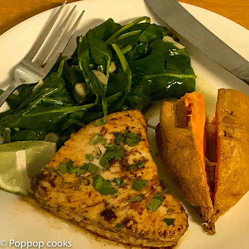 Pan Seared Tuna Steak-4-poppopcooks.com