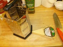 Parmesan for grating