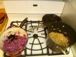 Braised Red Cabbage & Pasta Godjabunda all done