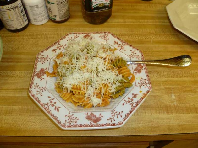 Pomodoro Pasta Plated