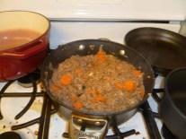Adding Gorund Beef