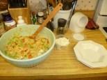 Warm Chicken-Orzo Salad