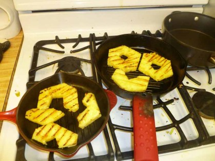 Grilling The Pineapple