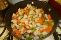 Turkey & Vegetables Join The Fun