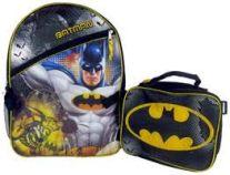 Fast Forward Inc. Batman Backpack with Lunch Ki