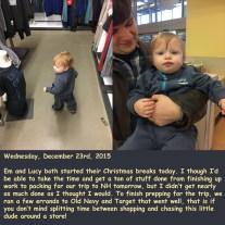 Wednesday, December 23rd, 2015